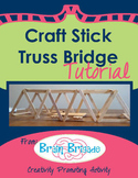 Craft Stick Truss Bridge Tutorial | Maker Space, Make Acti
