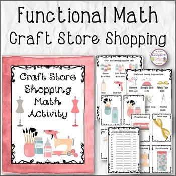 FUNCTIONAL MATH Craft Store Shopping