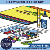 Craft Supplies Clip Art