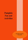 Pumpkin Fun and Activities