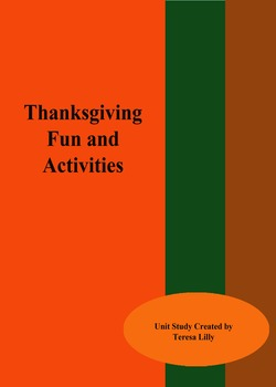 Thanksgiving Fun and Activities