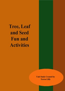Tree Leaf and Seed Crafts and Activities