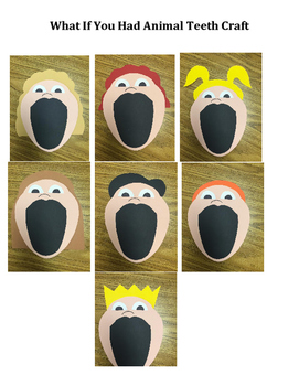 Craft: What If You Had Animal Teeth or The Little Old Lady Who Swallowed...