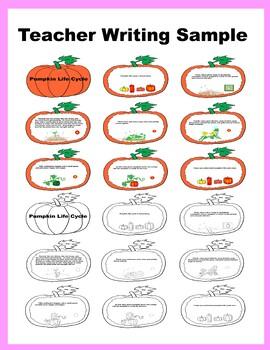 Craft Writng Book: Pumpkin