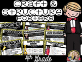 Craft and Structure Anchor Chart Posters