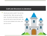 CCSS RL 3.4-3.6 - Craft and Structure in Literature - Introductory Lessons - 3rd