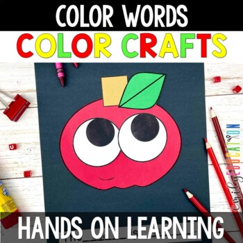 Color Word Crafts: Crafts for Teaching Colors and Color Words