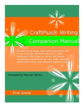 CraftPlus (R) Writing Companion Manual - First Grade