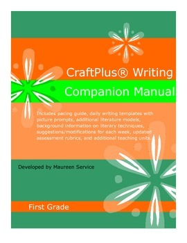 CraftPlus (R) Writing Companion Manual - First Grade