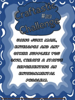 Craftastic Challenge Creative Thinking Activities