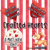 Crafted Hearts Font - A Font for all Seasons