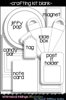 Crafting Kit Blank-Make Your Own!