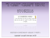 """Crafting True Stories: """"I can"""" Statements for Lucy Calkins Grade 3 Unit 1"""