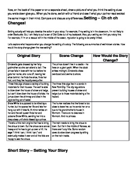 Crafting a Short Story - Setting