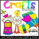 Craftivities BUNDLE in English & Spanish