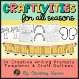 Craftivities for All Seasons - Writing Prompts, Templates and Craft Outlines