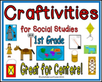 Craftivities for Social Studies