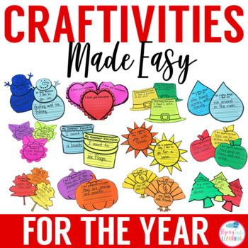 Craftivities for the Year
