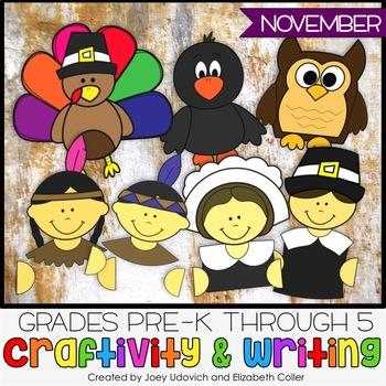 Craftivity, ALL THINGS NOVEMBER!