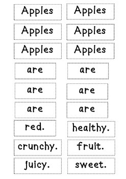 Craftivity: Apples -  Crafts & prompts If friends were like apples I'd pick you!