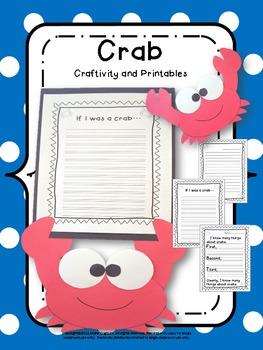 Craftivity: Crab