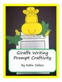 Craftivity: Giraffe Writing Prompt