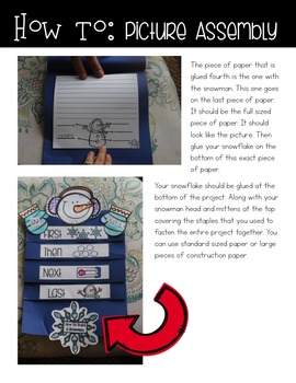 Craftivity: How to Build a Snowman