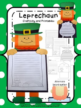 Craftivity: Leprechaun