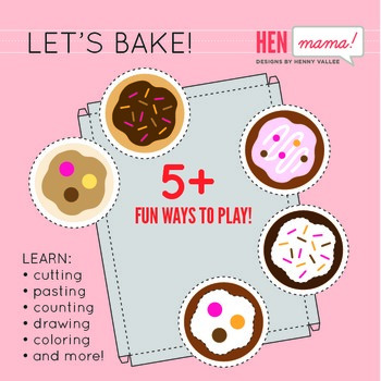 Craftivity: Let's Bake!