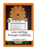 Craftivity: Lion Writing Prompt