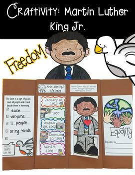 Craftivity: Martin Luther King Jr.