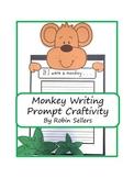 Craftivity: Monkey Writing Prompt