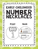 Early Childhood Number Necklaces