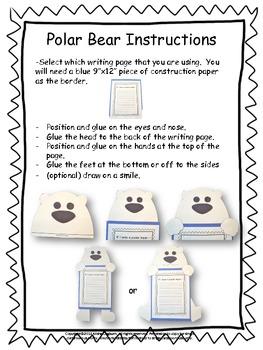 Craftivity: Polar Bear