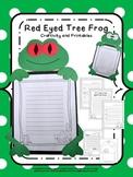 Craftivity: Rainforest Red Eyed Tree Frog