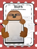 Craftivity: Rainforest Sloth