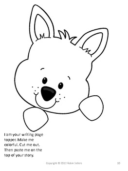 Craftivity: Squirrel Writing Prompt