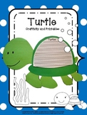 Craftivity: Turtle
