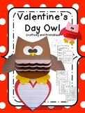 Craftivity: Valentine's Day Owl