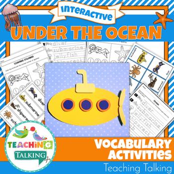 Ocean Theme Vocabulary Activities