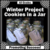 Winter or Christmas Crafts Cookies in a Jar Entrepreneurship Project Gift Ideas
