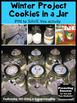 Christmas Craft Gift for Parents, Cookies in a Jar Recipe, Fundraiser Project