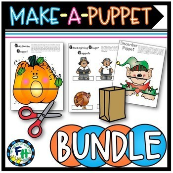 Crafts: Make-A-Puppet BUNDLE