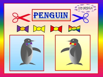 PENGUIN - Crafts - Digital Paper - Personal or Commercial Use