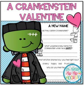 Crafts and Activities for A Crankenstein Valentine!