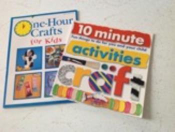 Crafts for Kids 2 book set