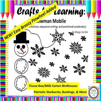 #bestof2017 Crafts for Learning Writing, Sequencing, Position Words
