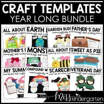 Crafts for the Year! {Mega Bundle}