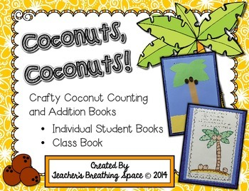 Chicka Chicka Boom Boom --- Coconut Counting and Addition Books