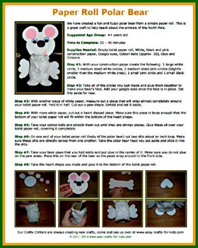 Crafty Critters: 100 Easy Crafts for Kids